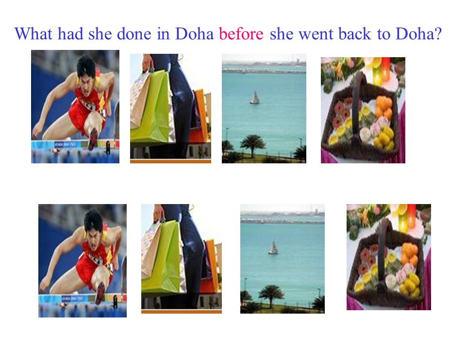 What had she done in Doha before she went back to Beilun .
