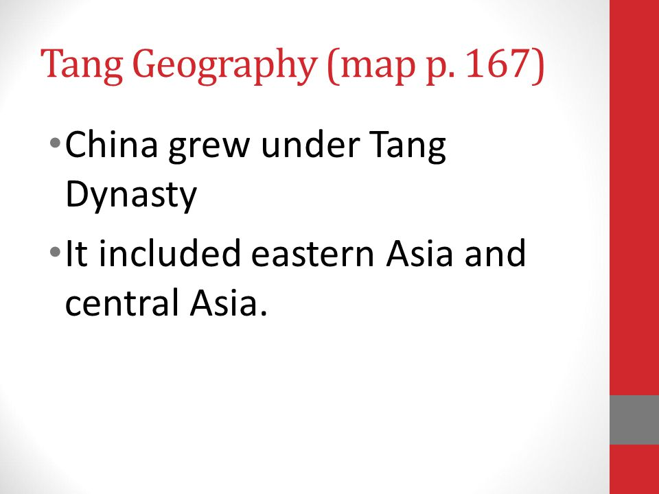 Tang Dynasty 618-907 (289 years!)