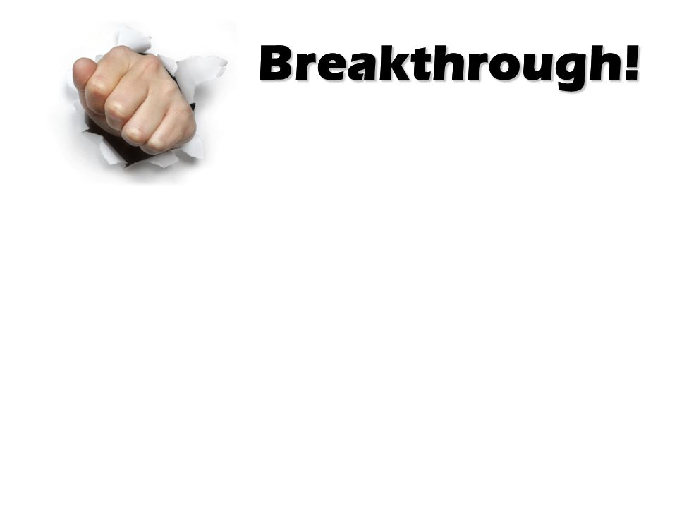 Breakthrough! Acts 4 (The Message)…