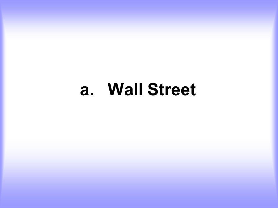 a.Wall Street