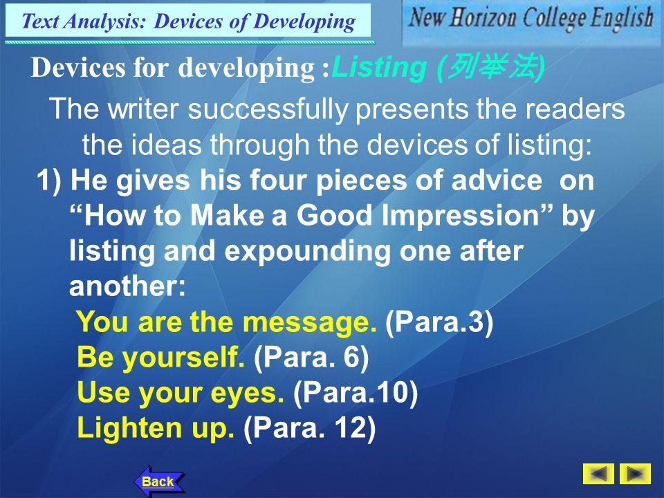 Text Analysis: Language Points Back 7.
