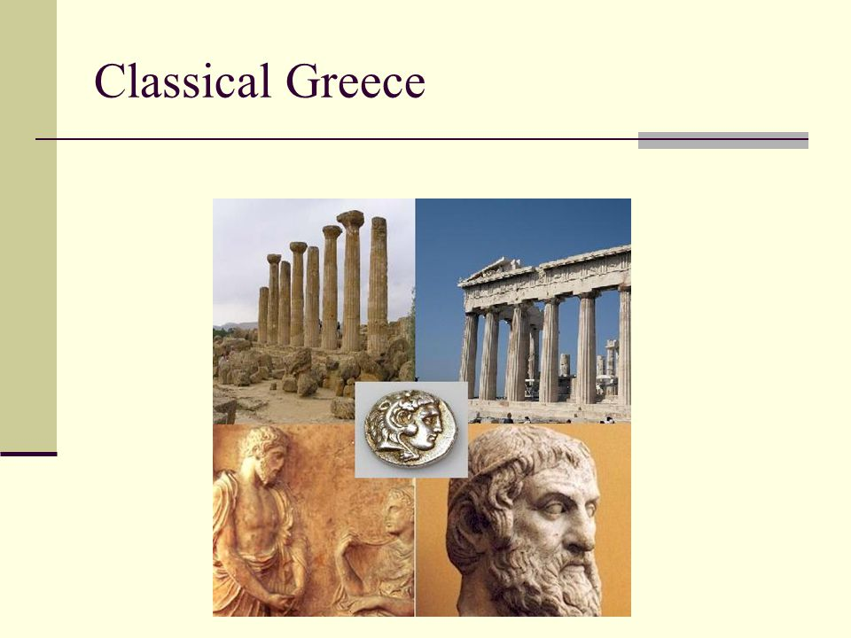 The Greek Cultural Tradition The Greeks were known for theater, especially tragedy (tragoidia—which means goat-song because the first actors either wore goatskins or were given goats as prizes).