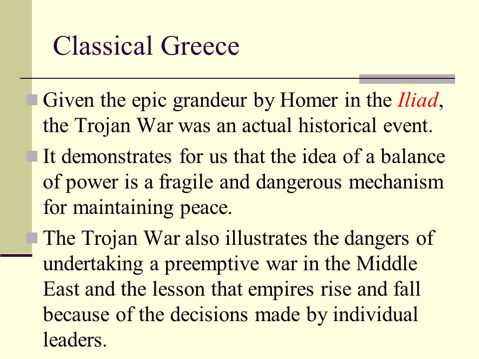Greece Athenian democracy was different from modern democracy.