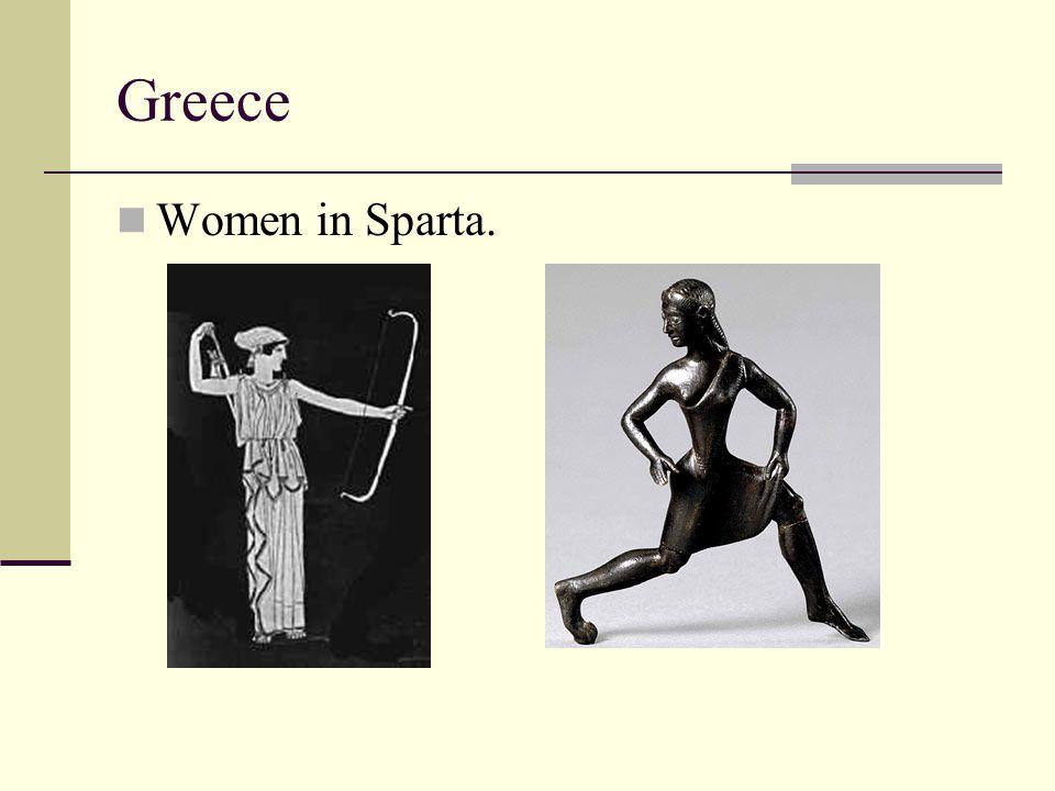Greece Women in Sparta.