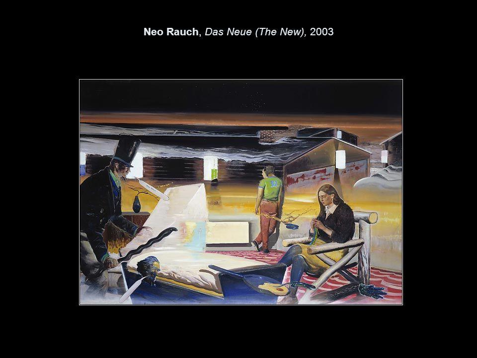 Neo Rauch, Das Neue (The New), 2003