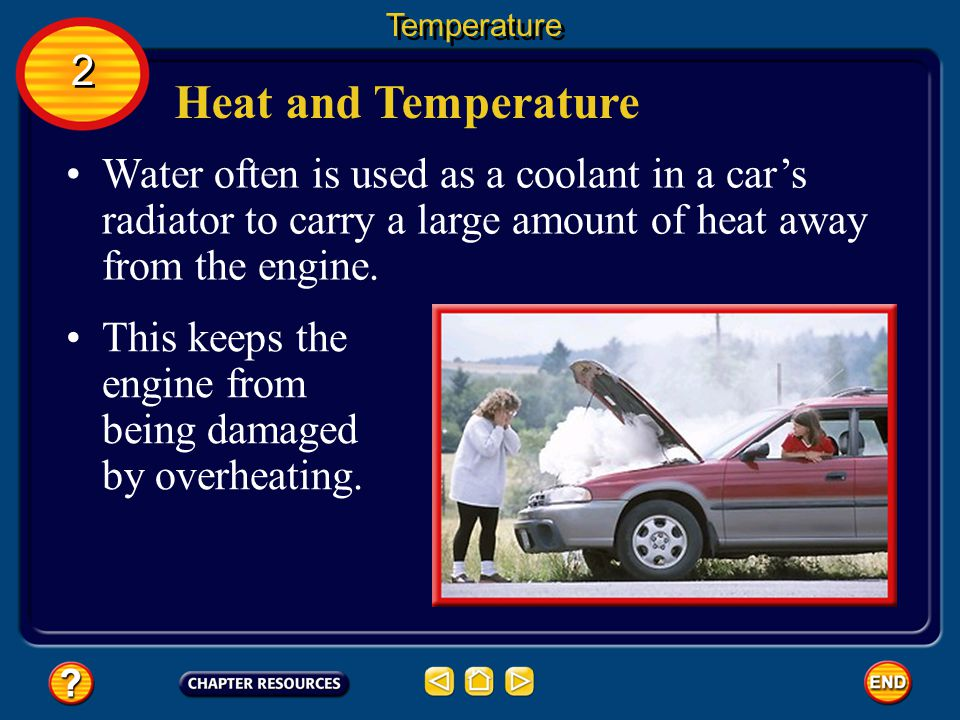 Heat and Temperature Compared to other materials, water is an unusual substance in that it must absorb a large amount of heat before its temperature rises by one degree.