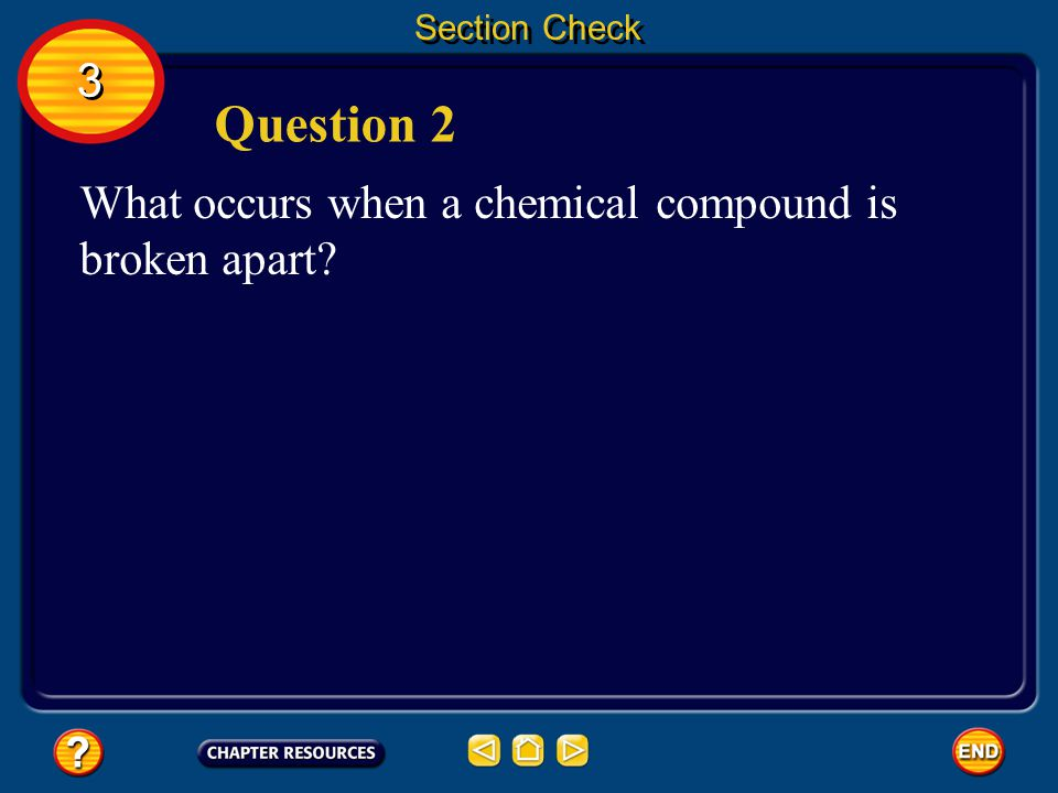 Section Check 3 3 A catalyst can be added to speed up a chemical reaction.