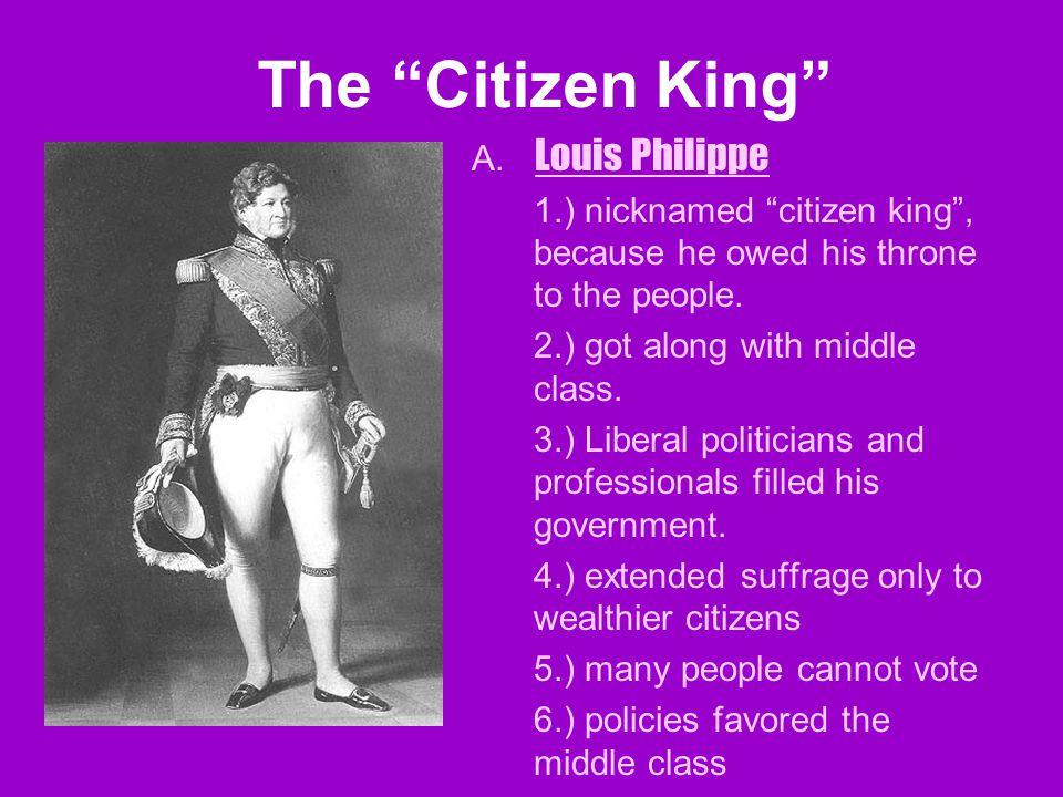 The Citizen King A.