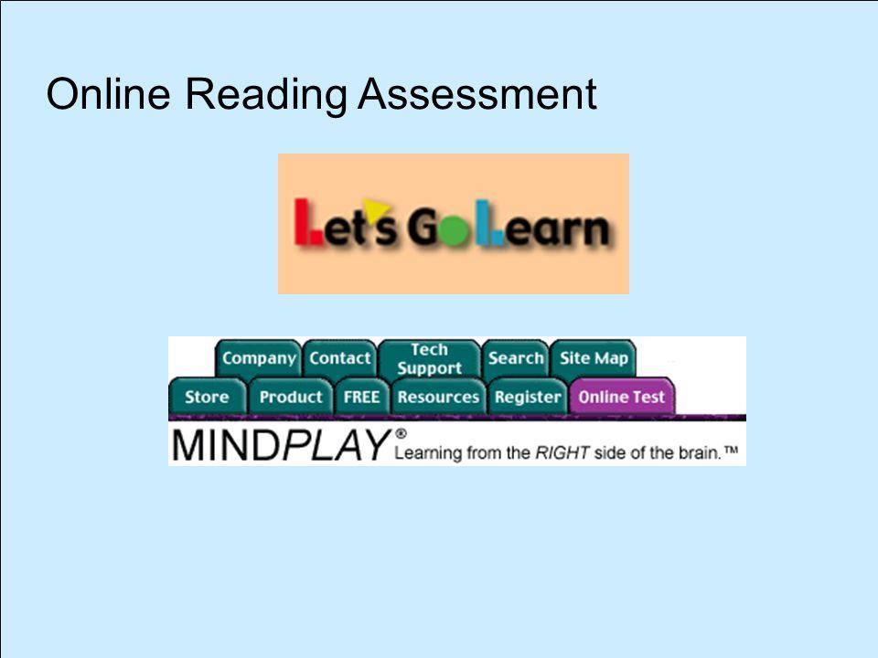 Online Reading Assessment