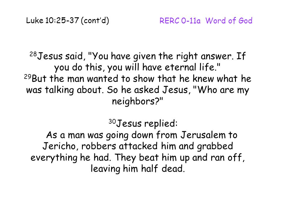 28 Jesus said,