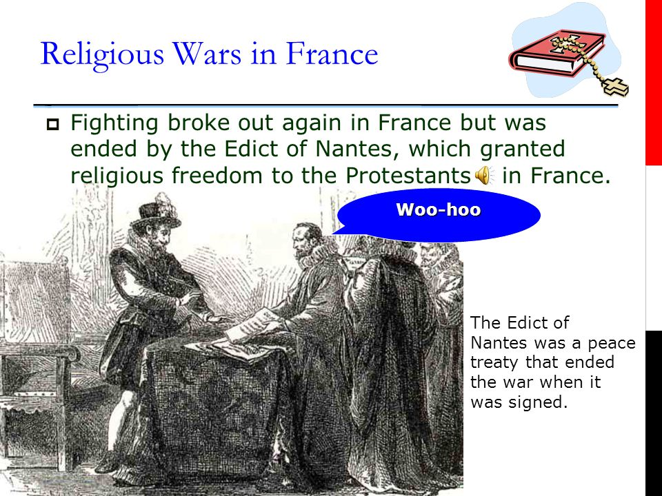 Religious Wars in France  Protestants in France were called Huguenots.