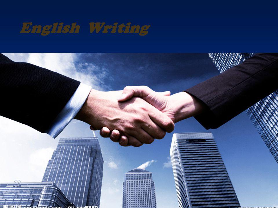 1 English Writing