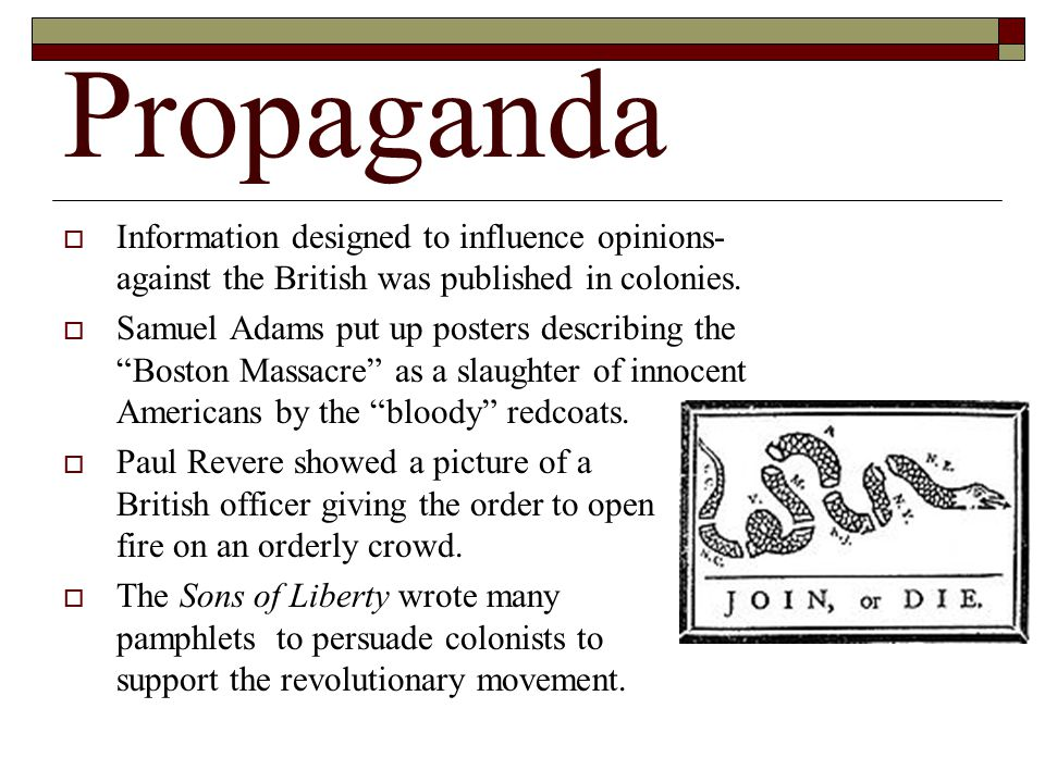 Boston Tea Party  The Sons of Liberty dressed like Mohawk Indians to disguise themselves.