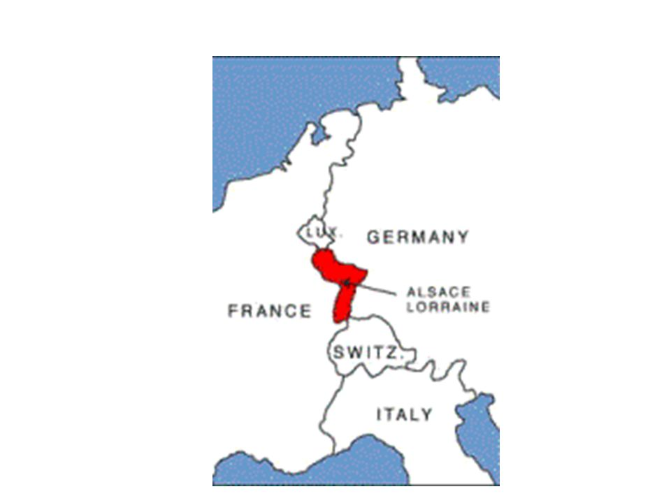 France & Germany  In 1870-71 the German army attacked France.