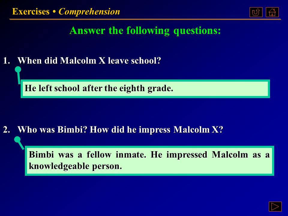 Exercises Comprehension Ex. II, p. 132 《读写教程 IV 》 : Ex. II, p. 132