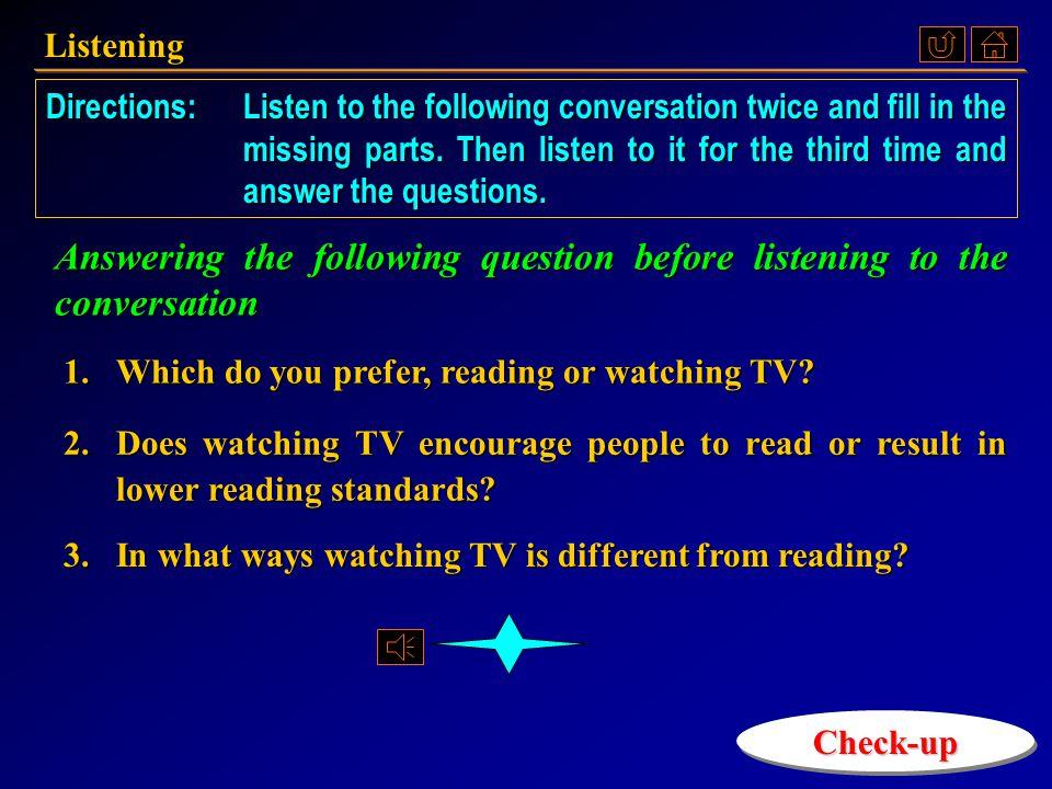 Listening 《听说教程 IV 》 Part 2.2, p. 52