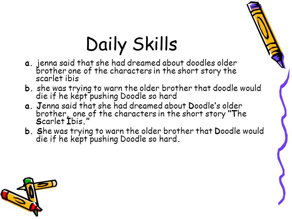 Daily Skills a.