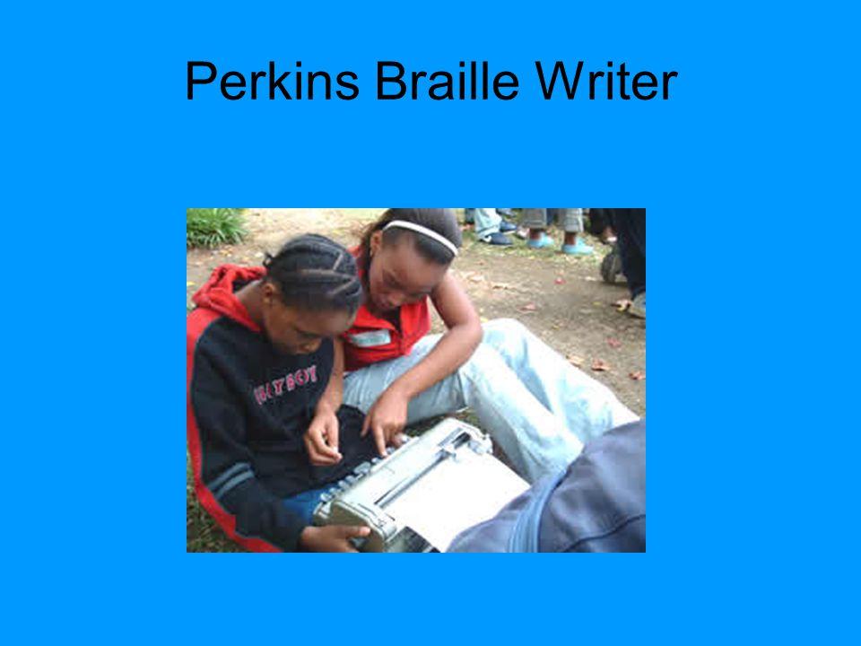 Perkins Braille Writer