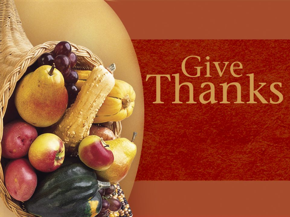 We need to be thankful when… 1.We think about how desperate our situation was before we meet Jesus Vs.