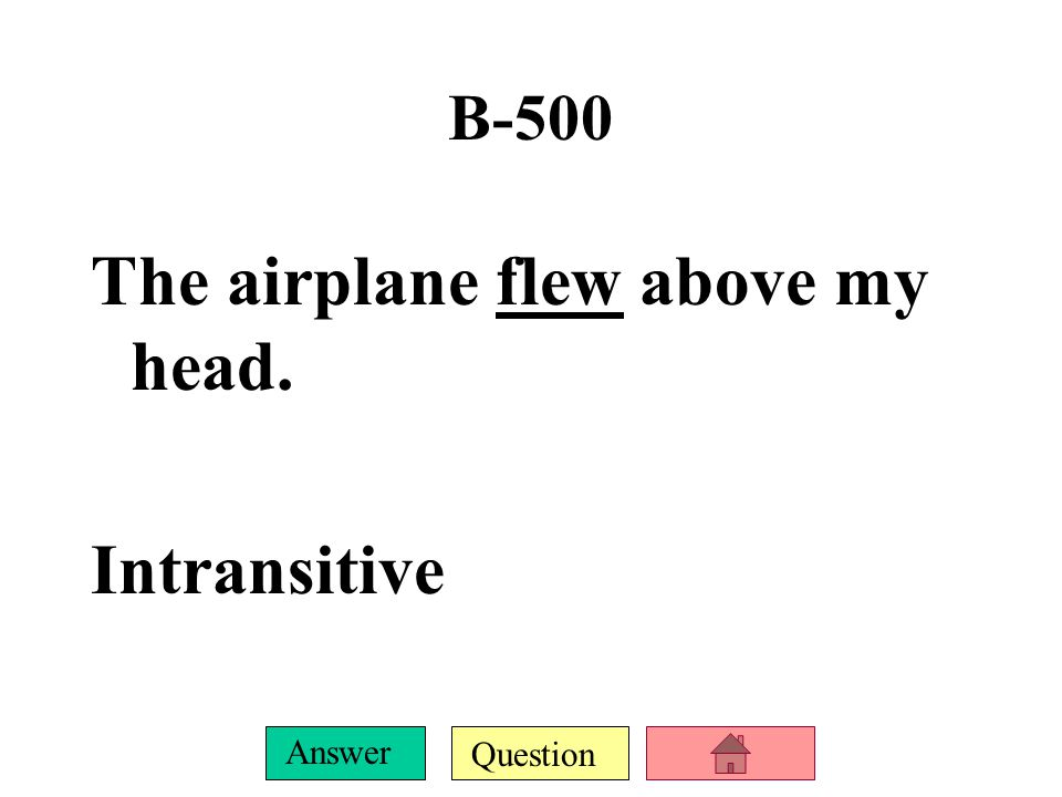 Question Answer B-400 DJ is in the city of Atlanta. Intransitive