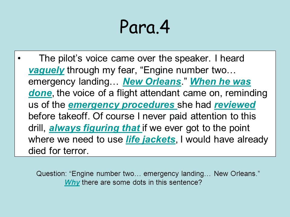 Read Para.5-9, and answering the following questions: 1.