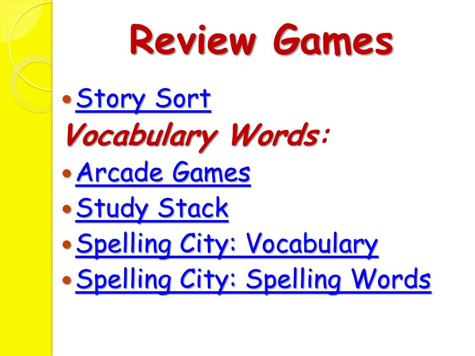 Spelling Words Homophones
