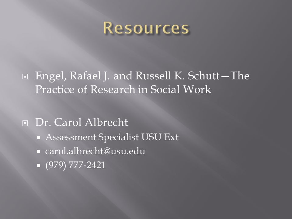  Engel, Rafael J. and Russell K. Schutt—The Practice of Research in Social Work  Dr.