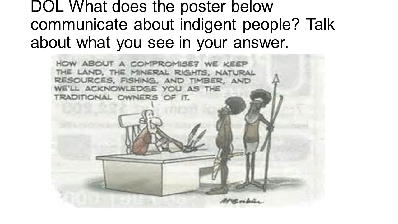 DOL What does the poster below communicate about indigent people? Talk about what you see in your answer.