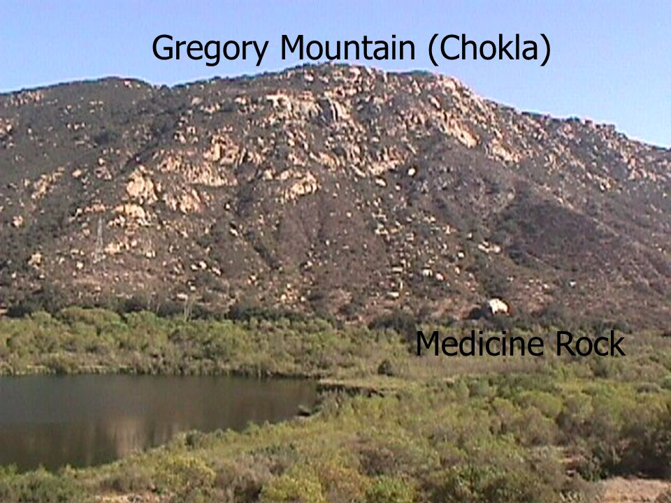 Gregory Mountain (Chokla) Medicine Rock