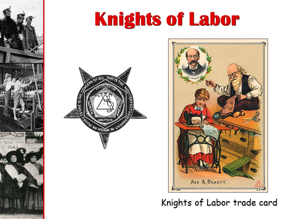 Knights of Labor Knights of Labor trade card