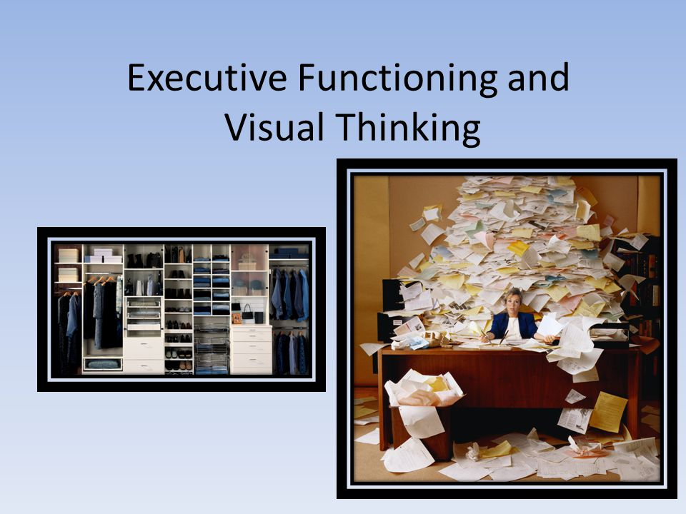 Executive Functioning and Visual Thinking