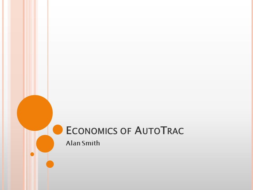 I NTRODUCTION Introduction to GreenStar and AutoTrac Costs Savings