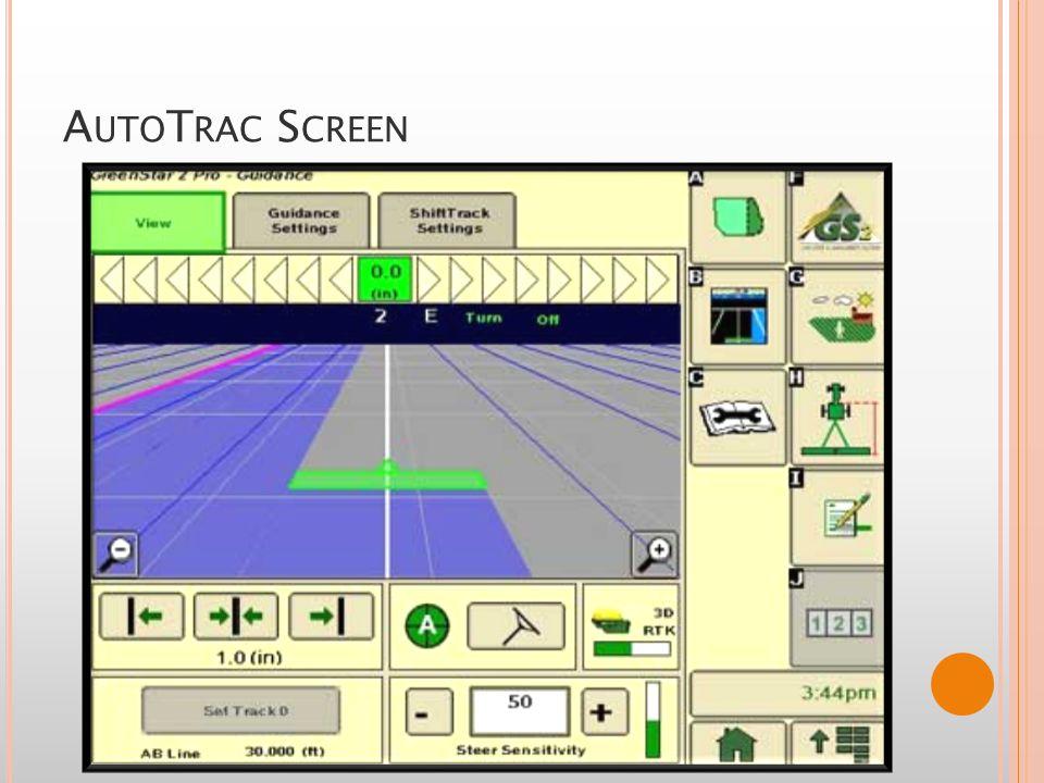 S TAR F IRE 3000 GPS Receiver Allows the AMS programs to run threw John Deere s StarFire Network.