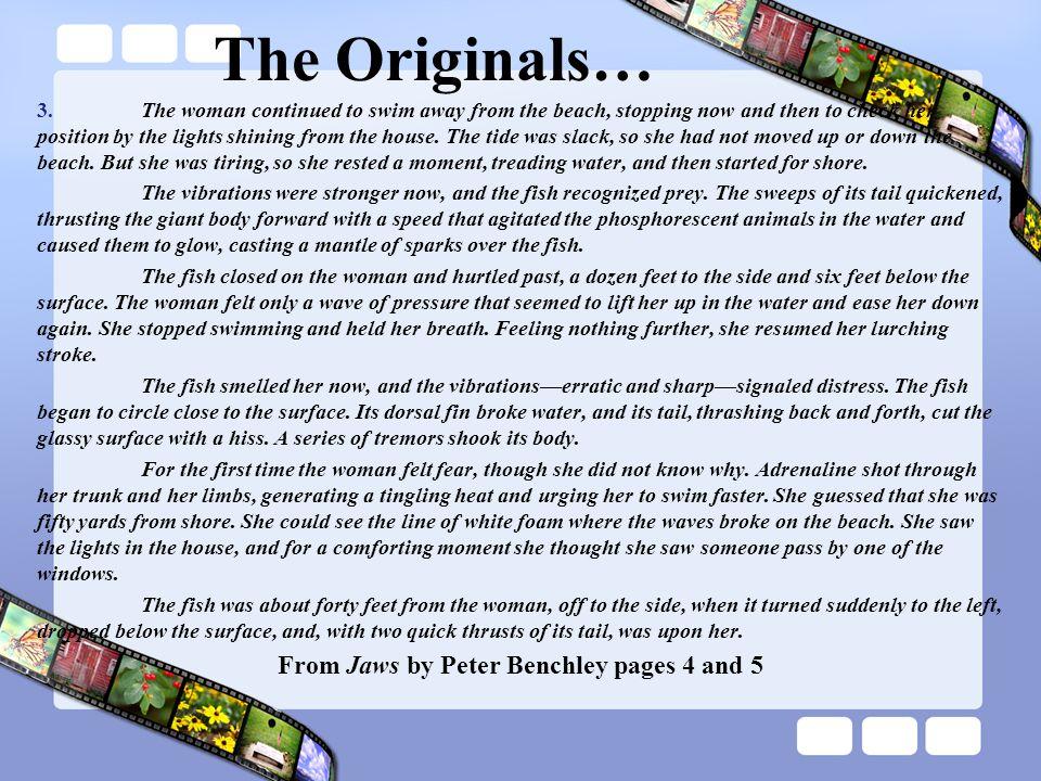 The Originals… 3.