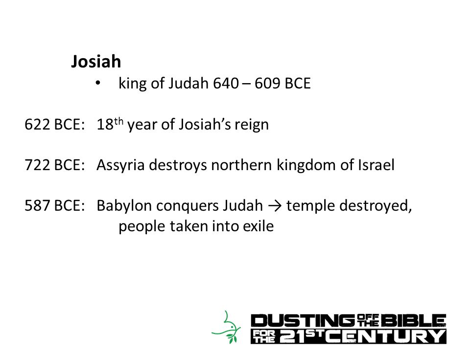 2 Kings 22:15-20 15 She declared to them, Thus says the LORD, the God of Israel: Tell the man who sent you to me, 16 Thus says the LORD, I will indeed bring disaster on this place and on its inhabitants – all the words of the book that the king of Judah has read.