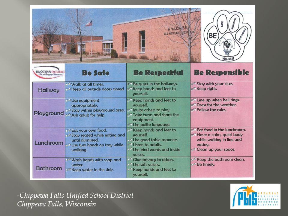 -Chippewa Falls Unified School District Chippewa Falls, Wisconsin