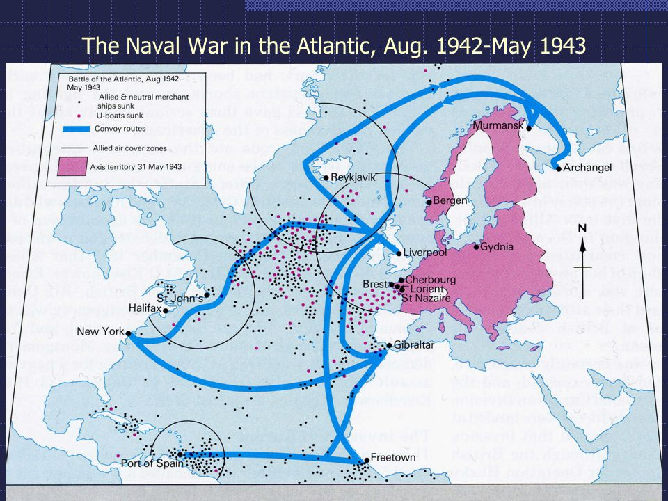 The Naval War in the Atlantic, Aug. 1942-May 1943