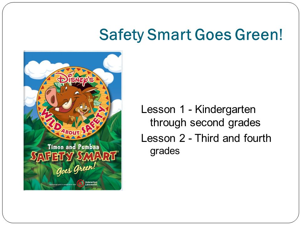 Safety Smart Goes Green.