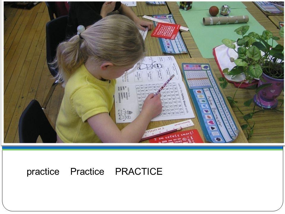 Being Prepared practice Practice PRACTICE