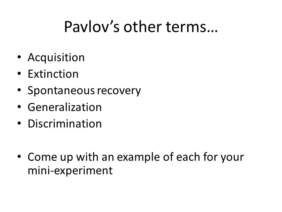 Classical conditioning & cognition Though Pavlov largely rejected the influence of cognitive psychology on behavior, the phenomenon of predictability suggests otherwise Varying levels of utility between two conditioned stimuli