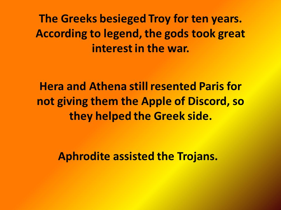 """That's why Helen of Troy is often referred to as """"The Face That Launched A Thousand Ships"""""""