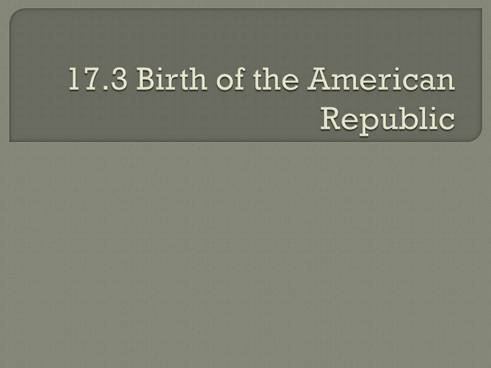  What do you already know about the American Revolution?