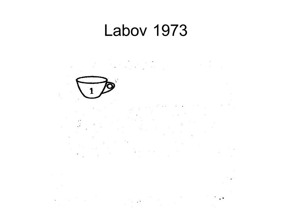 Labov 1973