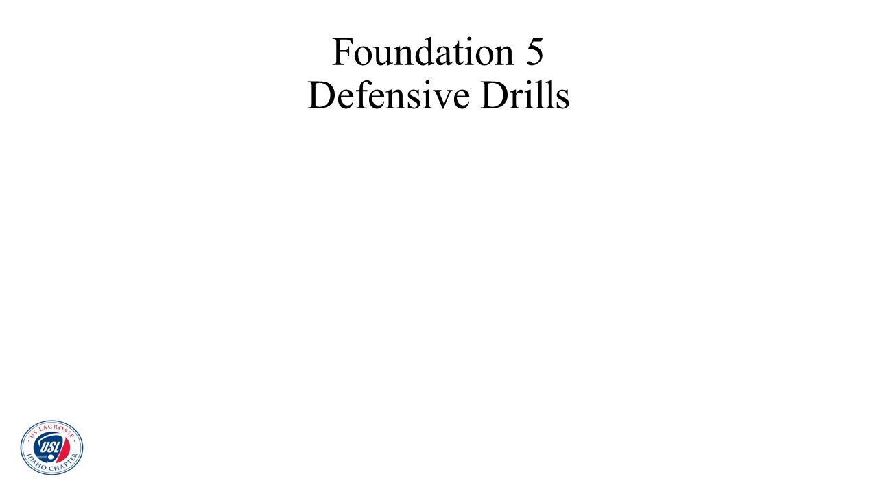 Foundation 5 Defensive Drills