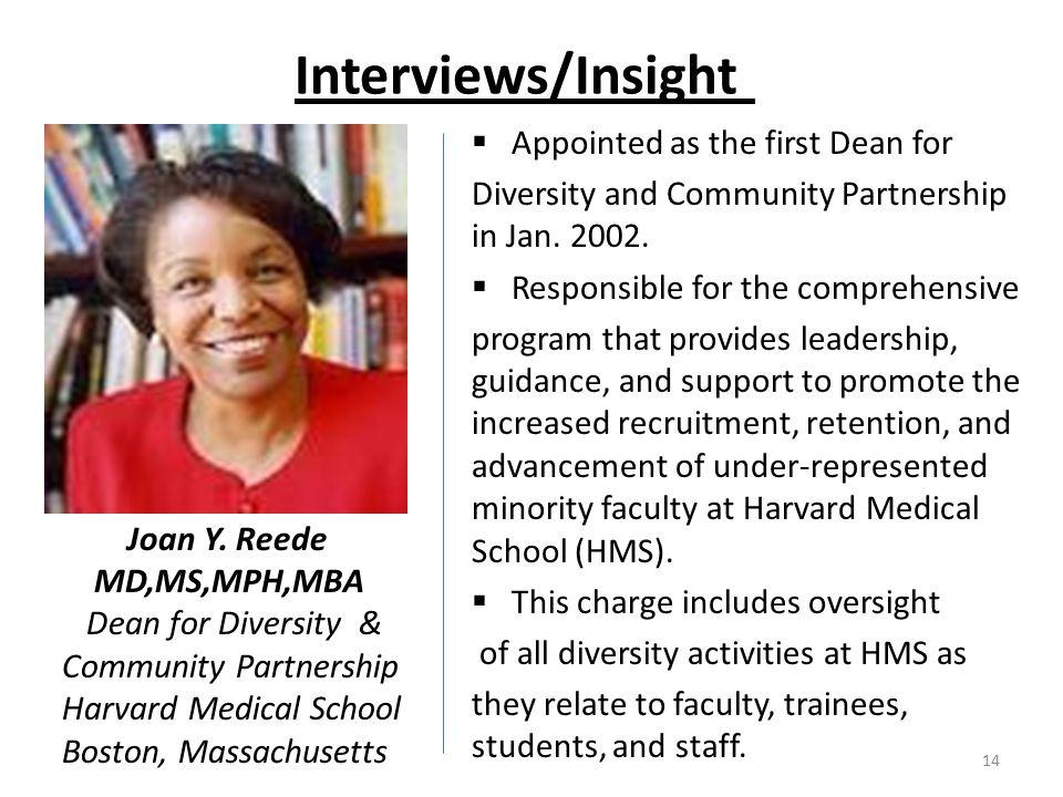 Interviews/Insight Joan Y.