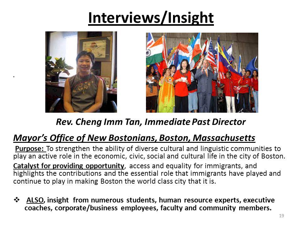 Interviews/Insight Rev.
