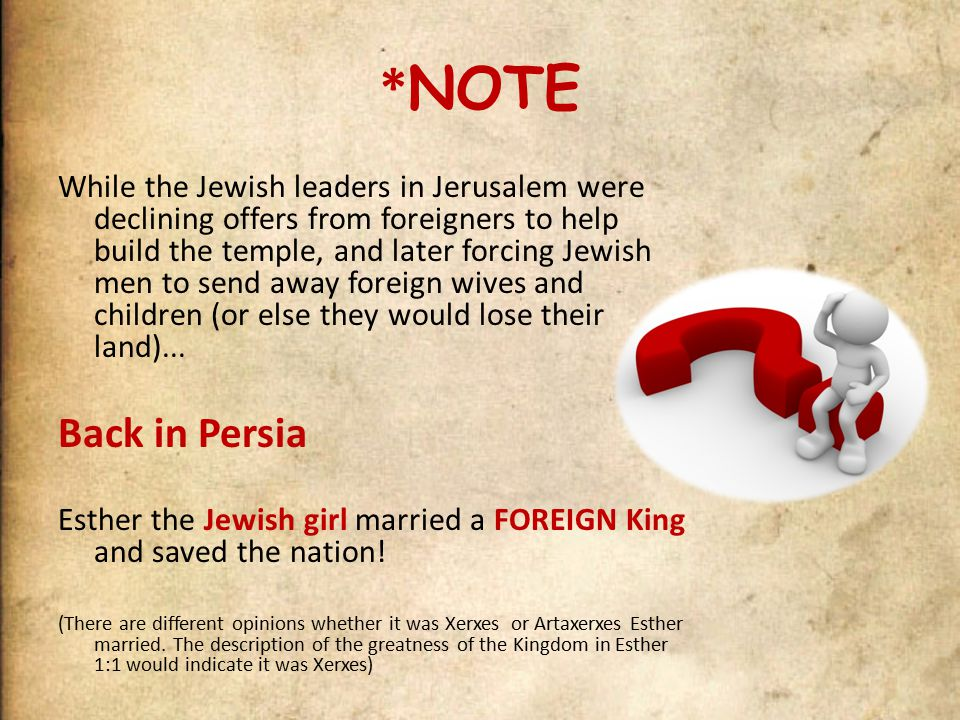 The Closing Scenes The books of Esther and Ezra/Nehemiah are the last history books of the Old Testament.