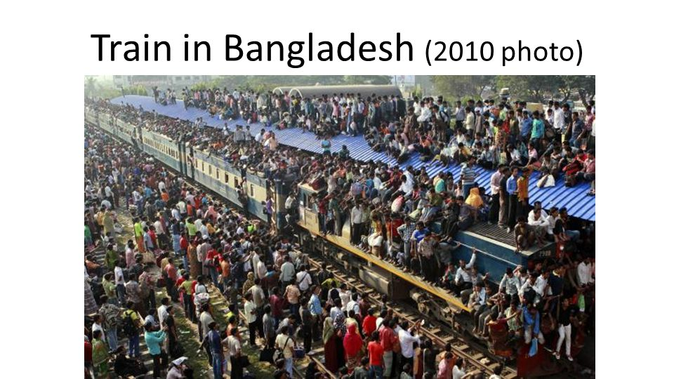 Train in Bangladesh (2010 photo)