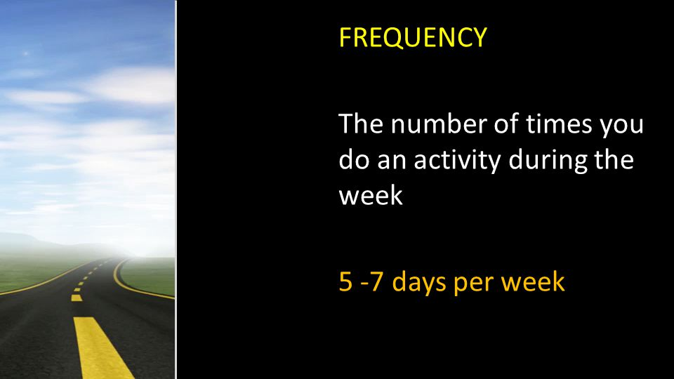 F-FREQUENCY I-INTENSITY T-TIME T-TYPE FITT PRINCIPLE