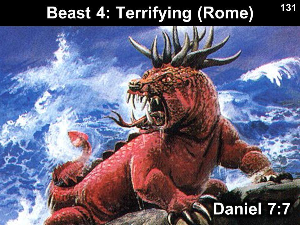 Beast 4: Terrifying (Rome) 131